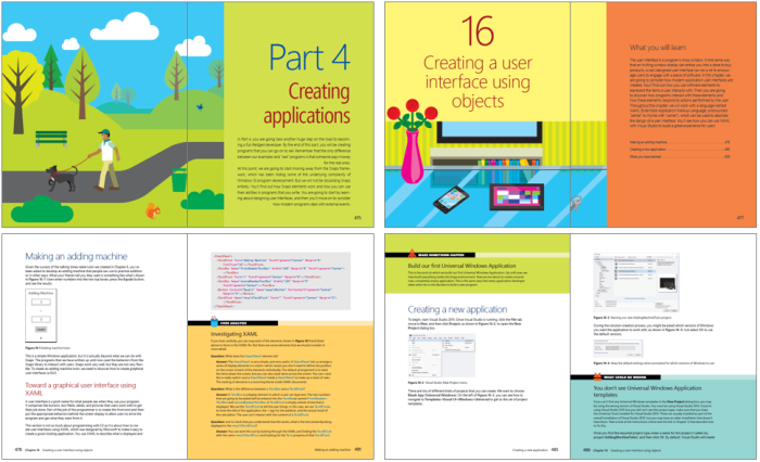 Begin to Code with C# - - Layout